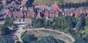 Ipswich School Aerial Image