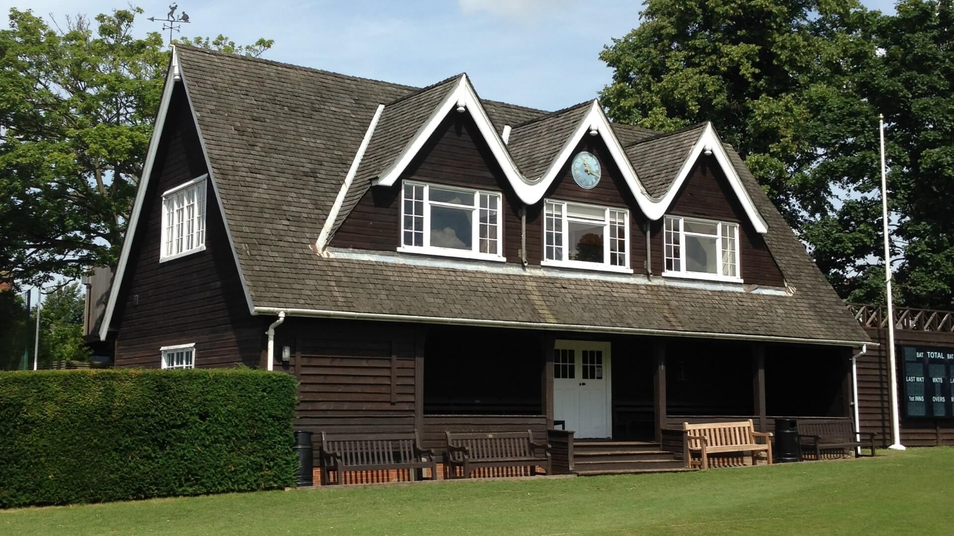 Cricket Pavilion Outside