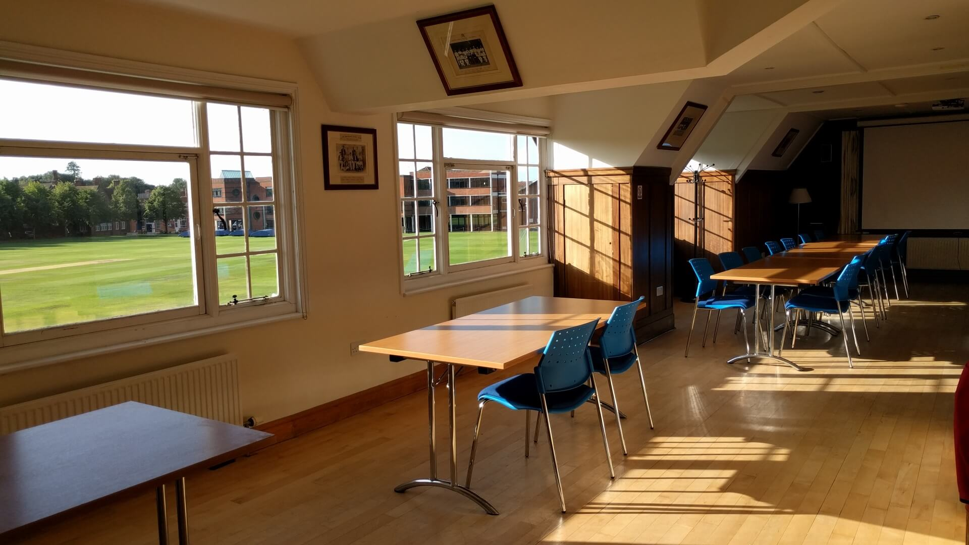 Cricket Pavilion Inside