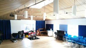 Music School Rehearsal Room